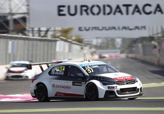 WTCC - Marruecos 2015 - Carrera 1 - Jose Maria Lopez - Citroen C-Elysee