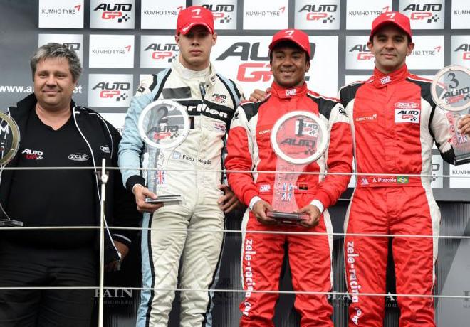 Auto GP - Silverstone 2015 - Carrera 2 - El Podio