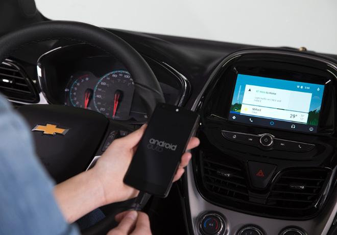 Chevrolet Spark - MyLink con Android Auto y Apple CarPlay