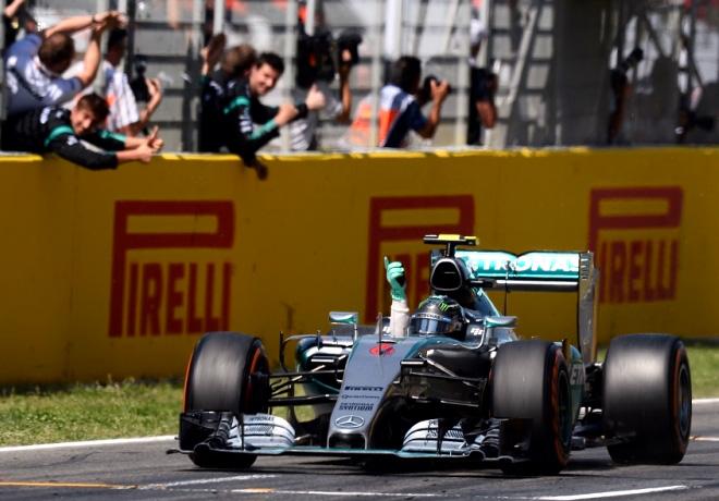 F1 - España 2015 - Carrera - Nico Rosberg - Mercedes GP