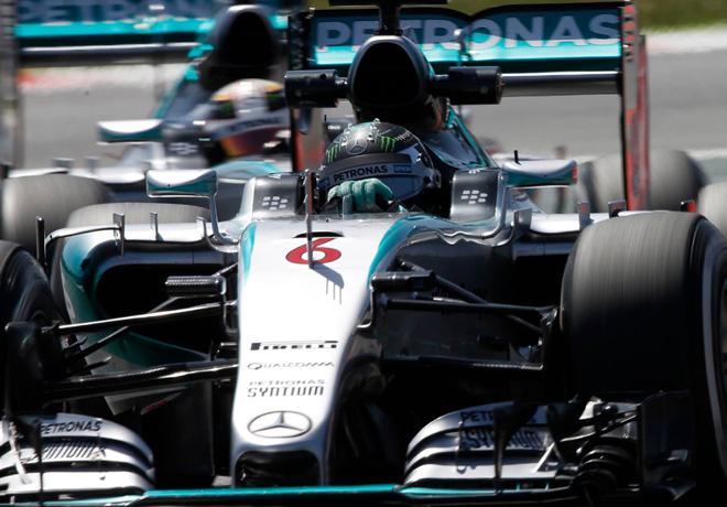 F1 - España 2015 - Nico Rosberg - Mercedes GP