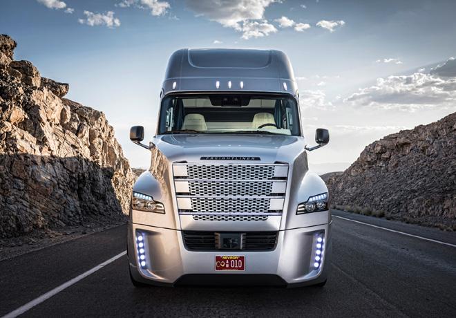 Freightliner Inspiration Truck 1