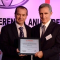 Fric-Rot recibio el Premio de Excelencia en Logistica de Toyota Argentina por quinto año consecutivo