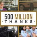 GM celebra 500 millones de unidades producidas a nivel mundial