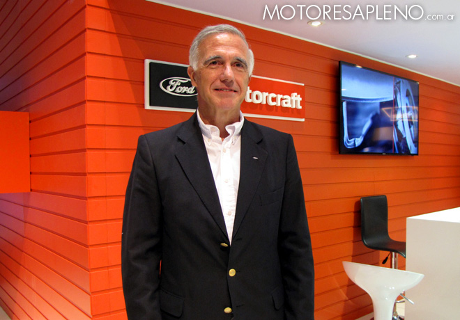 Hernan Galdeano - Director de Posventa de Ford Argentina