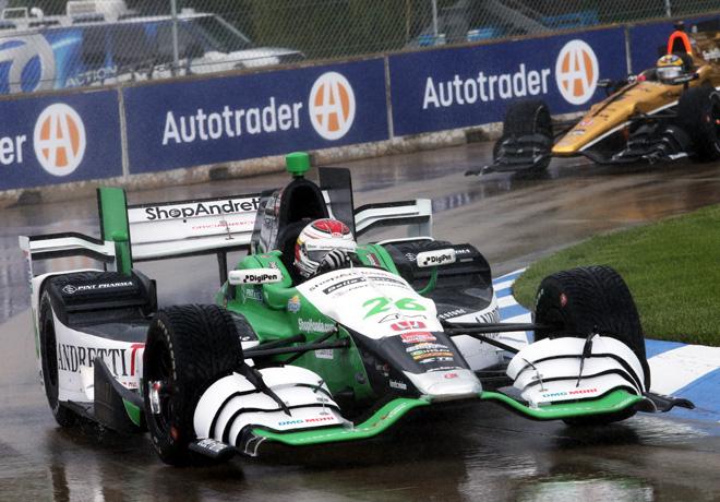 IndyCar - Detroit 2015 - Carrera 1 - Carlos Munoz