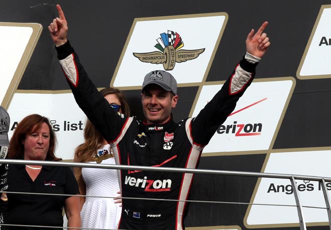 IndyCar - Indianapolis 2015 - Will Power en el Podio