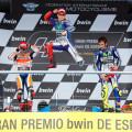 MotoGP - Jerez 2015 - Marquez - Pedrosa - Rossi en el Podio