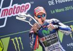 MotoGP - Le Mans 2015 - Jorge Lorenzo en el Podio