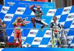 MotoGP - Mugello 2015 - Andrea Iannone - Jorge Lorenzo - Valentino Rossi en el Podio