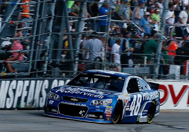 NASCAR - Dover 2015 - Jimmie Johnson - Chevrolet SS