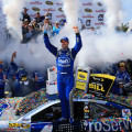 NASCAR - Dover 2015 - Jimmie Johnson en el Victory Lane