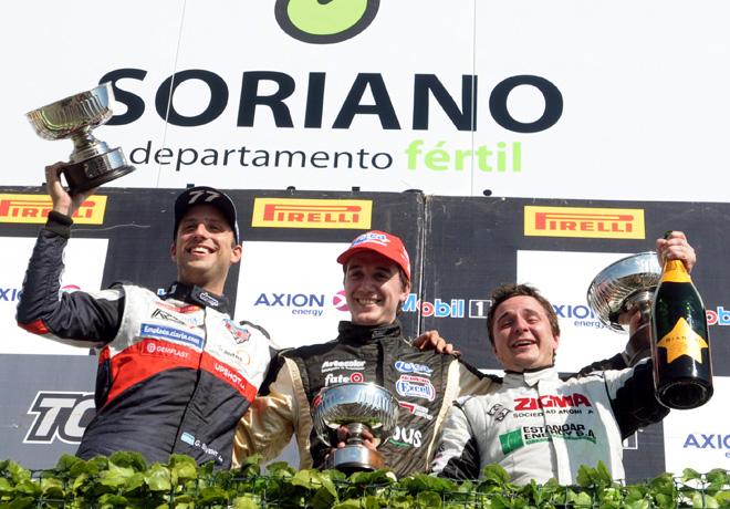 TC2000 - Soriano - Uruguay 2015 - Carrera - German Sirvent - Augusto Scalbi - Gianfranco Collino