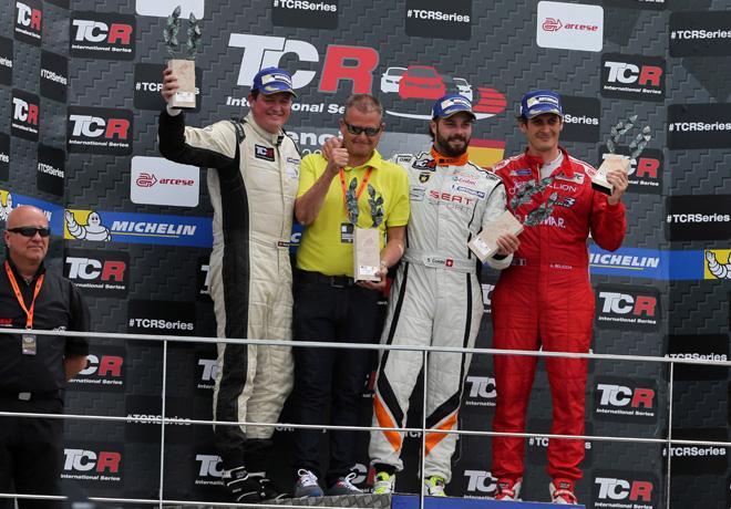 TCR - Valencia - Espana 2015 - Carrera 2 - El Podio
