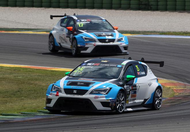 TCR - Valencia - Espana 2015 - Carrera 2 - Stefano Comini - Seat Leon