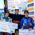 Top Race - Rio Cuarto 2015 - Carrera 1 - Juan Bautista De Benedictis, Agustin Canapino y Matías Rodriguez en el Podio