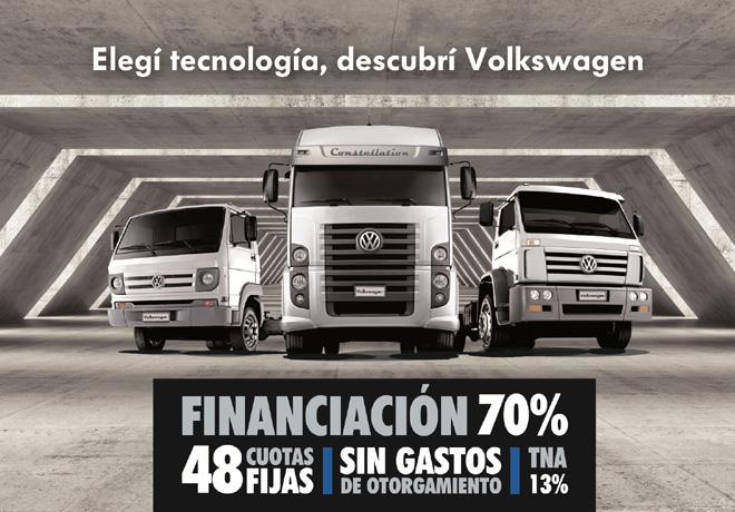 VW Camiones - Financiacion 70 por ciento