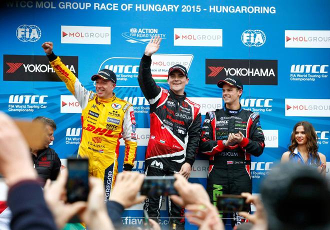 WTCC - Hungria 2015 - Carrera 2 - El Podio