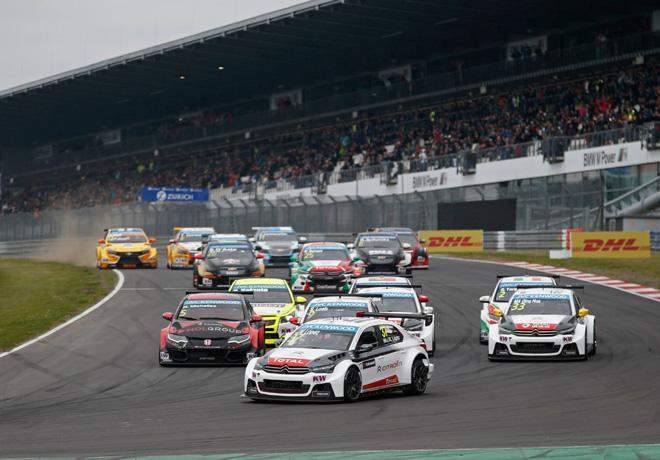 WTCC - Nurburgring - Alemania 2015 - Carrera 1 - Jose Maria Lopez - Citroen C-Elysee