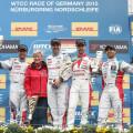 WTCC - Nurburgring - Alemania 2015 - Carrera 2 - El Podio