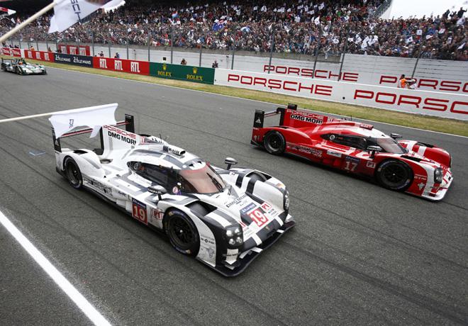 24 hs de Le Mans 2015 - 1-2 de Porsche