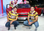 Alumni y Belgrano Athletic presentes en el stand de Fiat en el Salon del Automovil 3