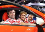 Alumni y Belgrano Athletic presentes en el stand de Fiat en el Salon del Automovil 7