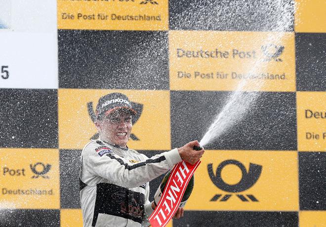 DTM - Norisring 2015 - Carrera 1 - Pascal Wehrlein en el Podio