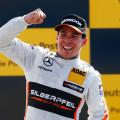 DTM - Norisring 2015 - Carrera 2 - Robert Wickens en el Podio
