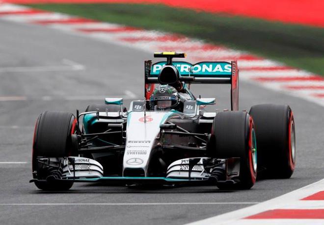 F1 - Austria 2015 - Carrera - Nico Rosberg - Mercedes GP