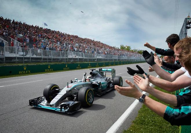 F1 - Canada 2015 - Carrera - Lewis Hamilton - Mercedes GP