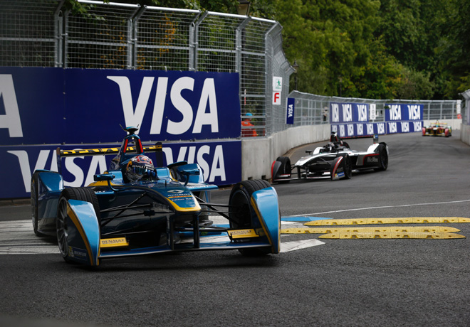Formula E - Londres - Inglaterra 2015 - Carrera 1 - Sebastien Buemi - eDams-Renault