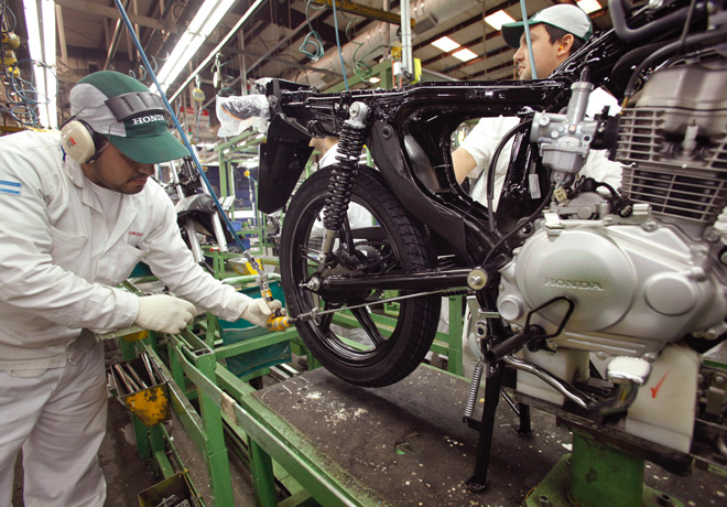 Honda comienza la produccion de la nueva CG 150 TITAN 2