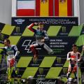 MotoGP - Catalunya 2015 - Valentino Rossi - Jorge Lorenzo - Dani Pedrosa en el Podio
