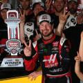 NASCAR - Michigan 2015 - Kurt Busch en el Victory Lane