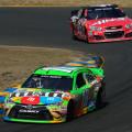 NASCAR - Sonoma 2015 - Kyle Busch - Toyota Camry - Kurt Busch - Chevrolet SS