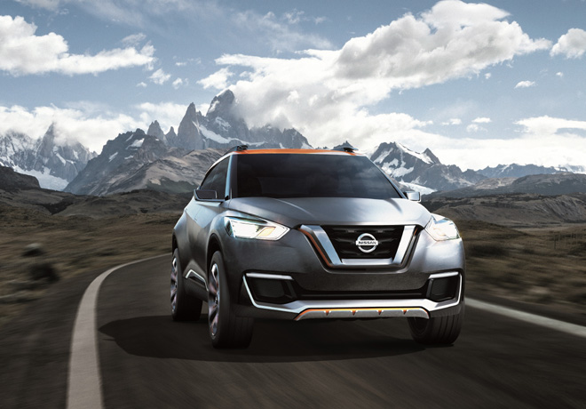 Nissan Kicks Concept Car
