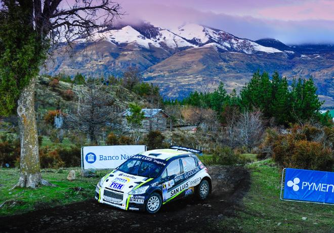 Rally Argentino - Esquel y Trevelin 2015 - Etapa 1 - Miguel Baldoni - Peugeot 208 MR