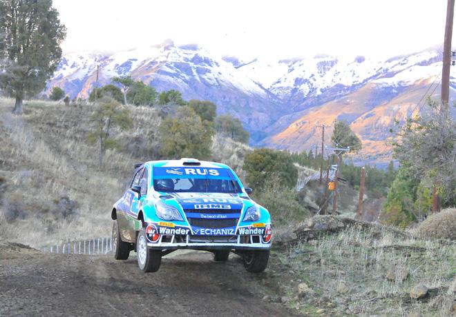 Rally Argentino - Esquel y Trevelin 2015 - Final - Marcos Ligato - Chevrolet Agile MR
