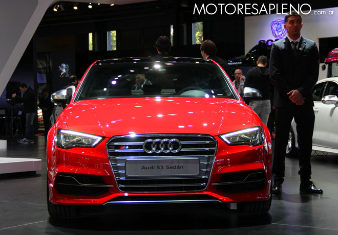 Salon AutoBA 2015 - Audi S3 Sedan