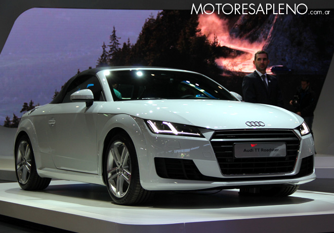 Salon AutoBA 2015 - Audi TT Roadster