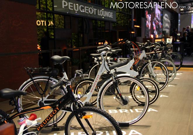 Salon AutoBA 2015 - Bicicletas Peugeot
