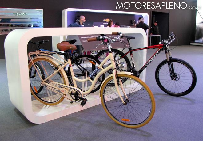 Salon AutoBA 2015 - Chevrolet Bikes