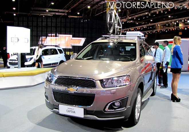 Salon AutoBA 2015 - Chevrolet Captiva