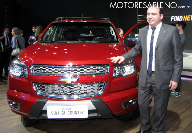 Salon AutoBA 2015 - Chevrolet S10 High Country