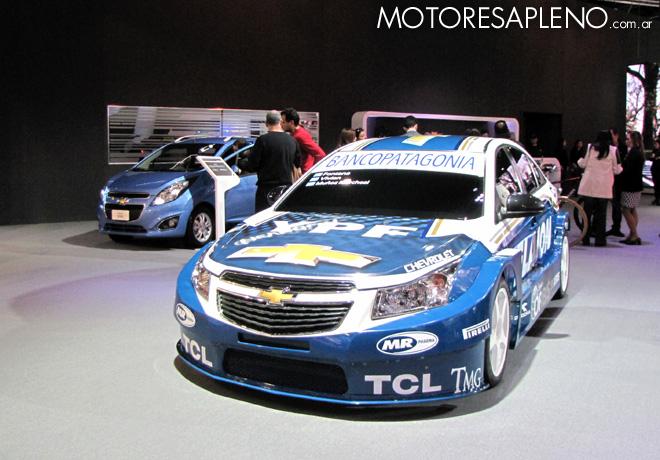 Salon AutoBA 2015 - Chevrolet Spark y Cruze STC2000 Show Car