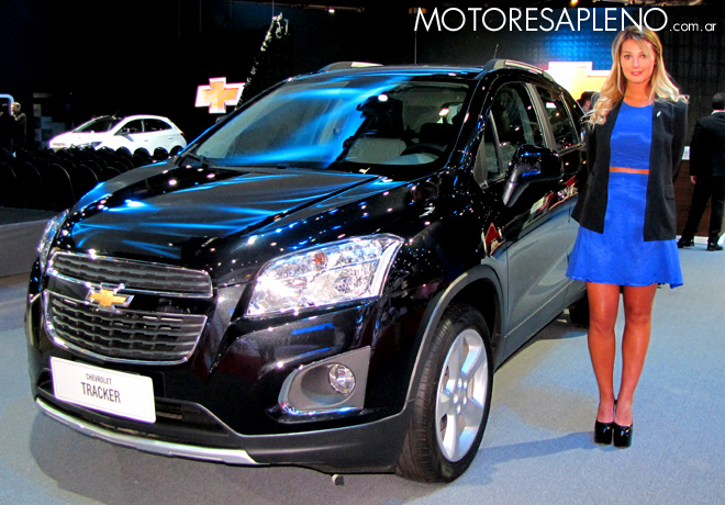 Salon AutoBA 2015 - Chevrolet Tracker