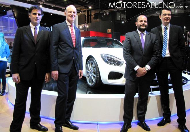 Salon AutoBA 2015 - Directivos de Mercedes-Benz
