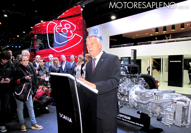 Salon AutoBA 2015 - Emilio Muller - Director General de Scania Argentina