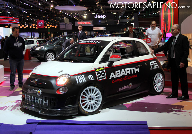 Salon AutoBA 2015 - Fiat 500 Abarth 2